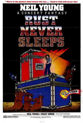 Rust Never Sleeps - 27 x 40 Movie Poster - Style A