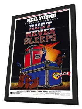 Rust Never Sleeps - 11 x 17 Movie Poster - Style A - in Deluxe Wood Frame