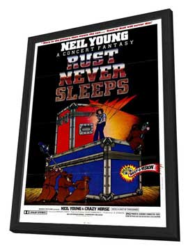 Rust Never Sleeps - 27 x 40 Movie Poster - Style A - in Deluxe Wood Frame