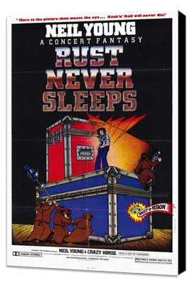 Rust Never Sleeps - 11 x 17 Movie Poster - Style A - Museum Wrapped Canvas