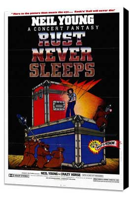 Rust Never Sleeps - 27 x 40 Movie Poster - Style A - Museum Wrapped Canvas