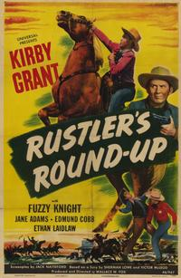 Rustlers Round-Up - 11 x 17 Movie Poster - Style A