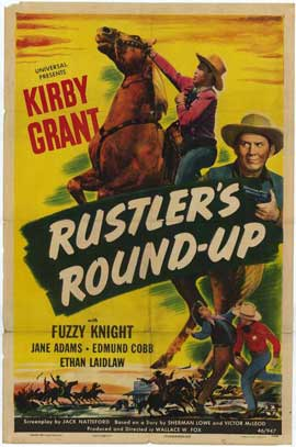 Rustlers Round-Up - 27 x 40 Movie Poster - Style A