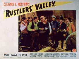 Rustler's Valley - 11 x 14 Movie Poster - Style A