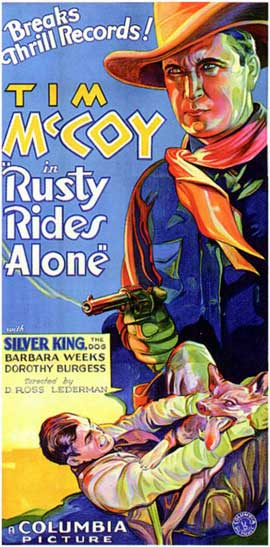 Rusty Rides Alone - 11 x 17 Movie Poster - Style C