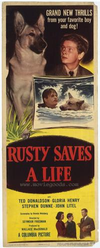 Rusty Saves a Life - 27 x 40 Movie Poster - Style A