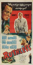 Ruthless - 20 x 40 Movie Poster - Style A