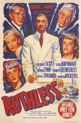 Ruthless - 11 x 17 Movie Poster - Style A