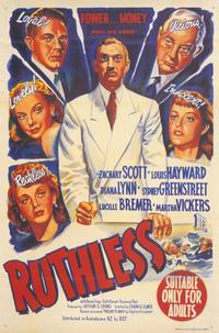 Ruthless - 27 x 40 Movie Poster - Style A