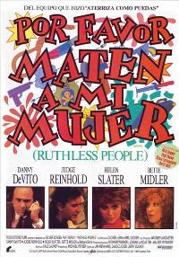Ruthless People - 27 x 40 Movie Poster - Spanish Style A