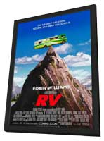 RV - 27 x 40 Movie Poster - Style A - in Deluxe Wood Frame