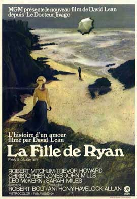 Ryan's Daughter - 11 x 17 Movie Poster - Belgian Style A