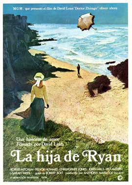 Ryan's Daughter - 27 x 40 Movie Poster - Spanish Style A