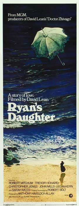 Ryan's Daughter - 14 x 36 Movie Poster - Insert Style A