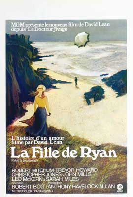 Ryan's Daughter - 27 x 40 Movie Poster - Belgian Style A
