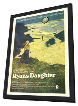 Ryan's Daughter - 27 x 40 Movie Poster - Style A - in Deluxe Wood Frame