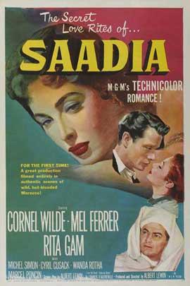Saadia - 11 x 17 Movie Poster - Style B