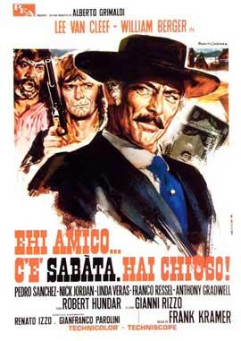 Sabata - 11 x 17 Movie Poster - Italian Style A
