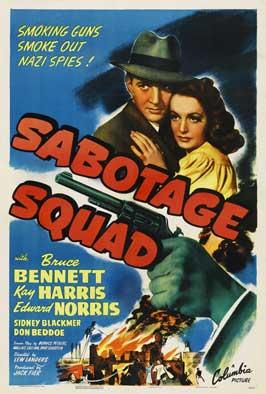 Sabotage Agent - 11 x 17 Movie Poster - Style B