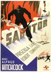 Saboteur - 11 x 17 Movie Poster - Swedish Style A