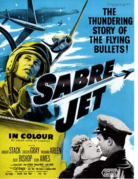 Sabre Jet - 27 x 40 Movie Poster - UK Style A