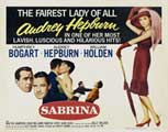 Sabrina - 30 x 40 Movie Poster - Style D