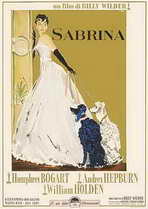 Sabrina - 11 x 17 Movie Poster - Italian Style B