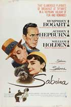 Sabrina - 27 x 40 Movie Poster - Style M