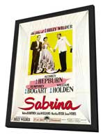 Sabrina - 11 x 17 Movie Poster - Style G - in Deluxe Wood Frame
