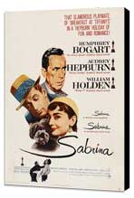 Sabrina - 27 x 40 Movie Poster - UK Style A - Museum Wrapped Canvas