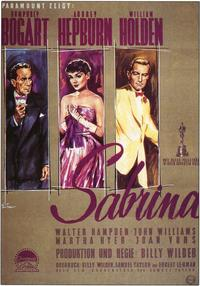 Sabrina - 11 x 17 Movie Poster - German Style A
