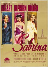 Sabrina - 27 x 40 Movie Poster - German Style A