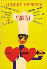 Sabrina - 11 x 17 Movie Poster - Polish Style A