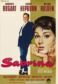 Sabrina - 27 x 40 Movie Poster - German Style B