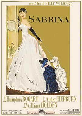 Sabrina - 11 x 17 Movie Poster - Italian Style B