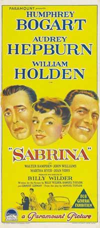 Sabrina - 13 x 30 Movie Poster - Australian Style A