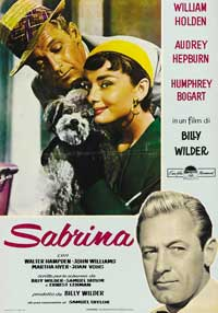 Sabrina - 27 x 40 Movie Poster - Style F