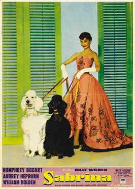 Sabrina - 11 x 17 Movie Poster - Italian Style D