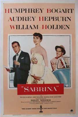 Sabrina - 11 x 17 Movie Poster - Style Q