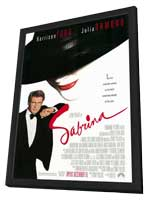 Sabrina - 11 x 17 Movie Poster - Style A - in Deluxe Wood Frame