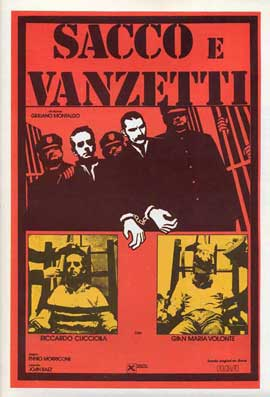 Sacco & Vanzetti - 11 x 17 Movie Poster - French Style A