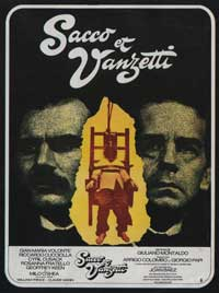 Sacco & Vanzetti - 11 x 17 Movie Poster - French Style B
