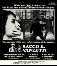 Sacco & Vanzetti - 11 x 14 Movie Poster - Style E