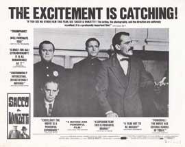 Sacco & Vanzetti - 11 x 14 Movie Poster - Style A