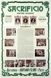 Sacrificio - 11 x 17 Movie Poster - Spanish Style A