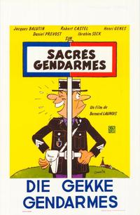 Sacr�s gendarmes - 27 x 40 Movie Poster - Belgian Style A