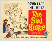 Sad Horse - 22 x 28 Movie Poster - Half Sheet Style A