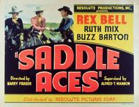 Saddle Aces - 11 x 14 Movie Poster - Style A