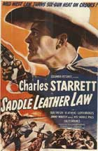 Saddle Leather Law - 11 x 17 Movie Poster - Style A