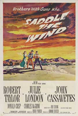 Saddle the Wind - 11 x 17 Movie Poster - Style B